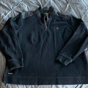 Tommy Bahama Mens 1/4 zipper sweater